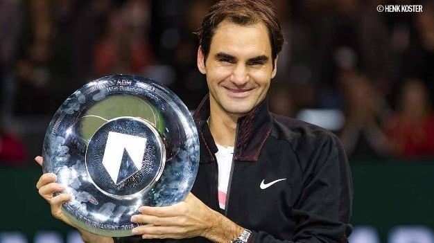 Federer e seu 97º troféu