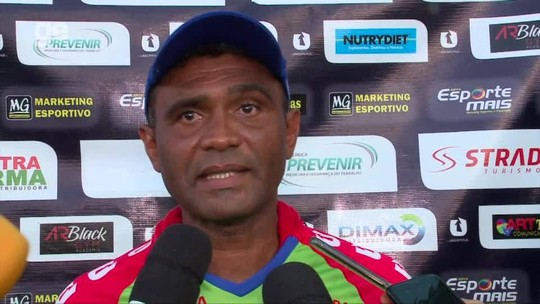 """Marcão celebra vitória diante do Parnahyba e mantém foco para última rodada: """"Vamos brigar"""""""
