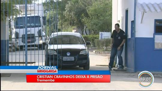 Condenado por morte dos pais de Suzane Richthofen, Cristian Cravinhos deixa prisão