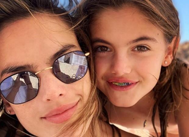 Alesandra Ambrosio e Anja Louise (Foto: Reprodução/Instagram)