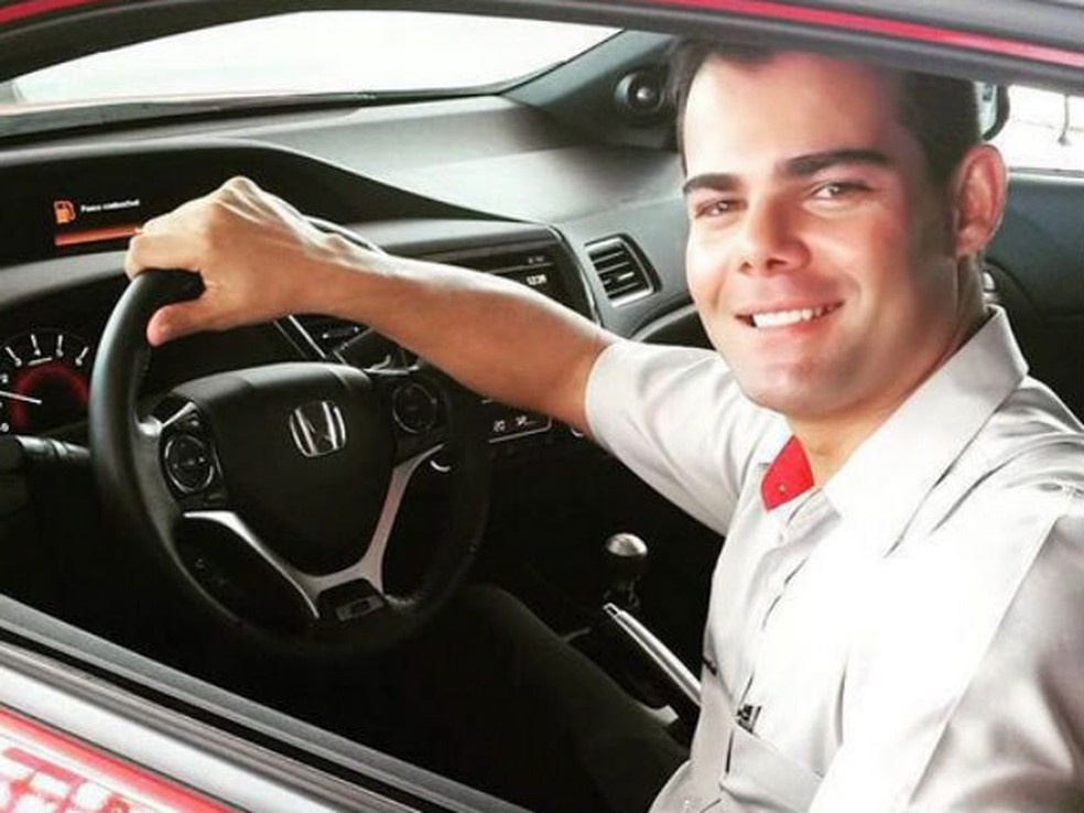 Rodrigo Medeiros foi morto no dia 25 de março de 2016, em Natal (Foto: Divulgação/Arquivo da família)