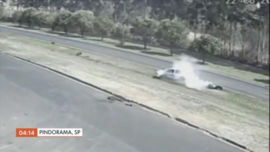 PM morre em acidente de trânsito em Pindorama (SP)