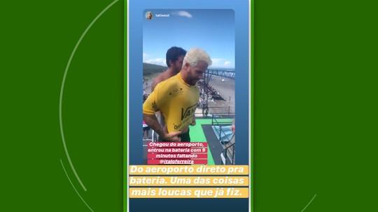 Tudo pela Olimpíada: Ítalo supera passaporte roubado, furacão, sai do avião pro mar e vence de jeans