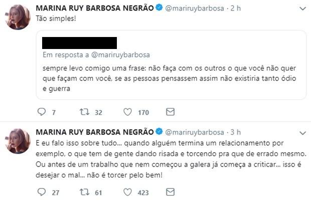 Marina Ruy Barbosa (Foto: Reprodução/Twitter)