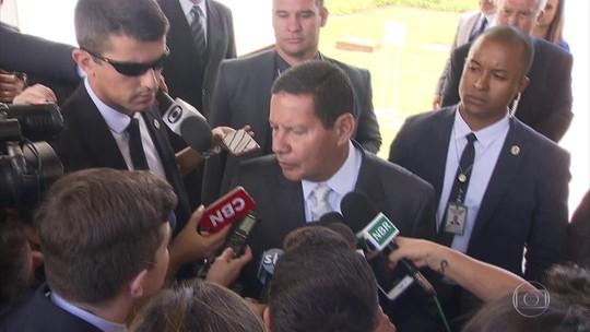 Mourão diz que objetivo do decreto sobre posse de armas não é reduzir violência
