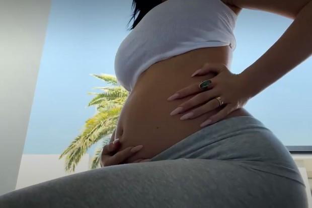 Kylie Jenner anuncia segunda gravidez (Foto: Reprodução/Instagram)