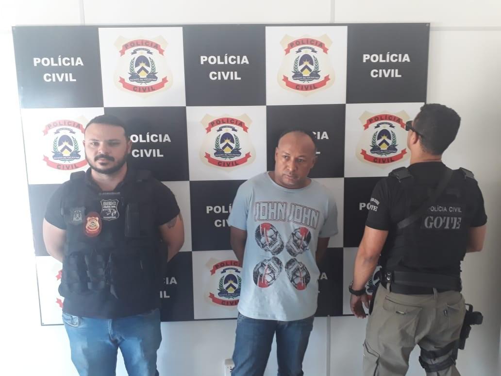 Funcionário público da Prefeitura de Palmas é preso suspeito de roubo a banco