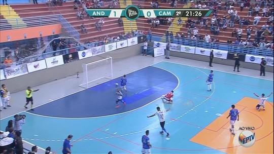 Andradas vence Cambuí e é campeã da Taça EPTV de Futsal 2019