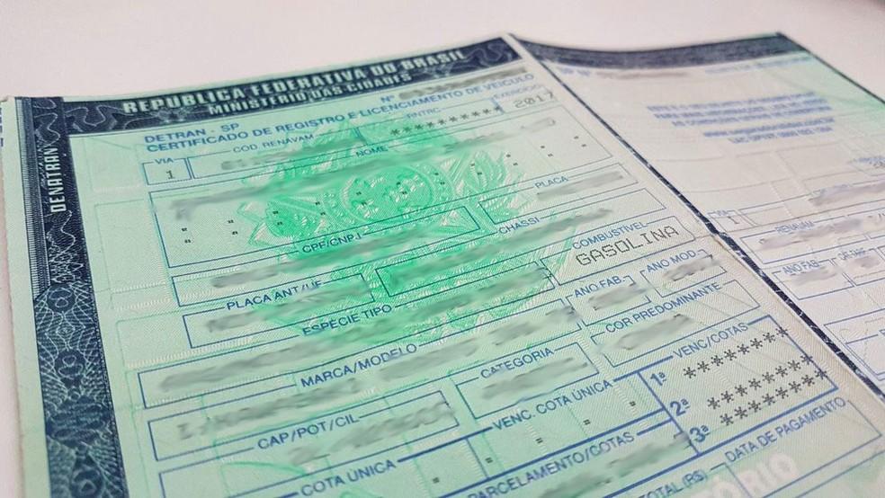 Ausência em recall será registrada no documento do veículo — Foto: Rafael Miotto/G1