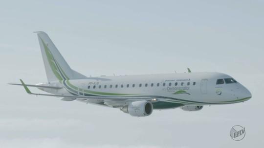 Avião que usa biocombustível de cana e tecnologias sustentáveis é testado