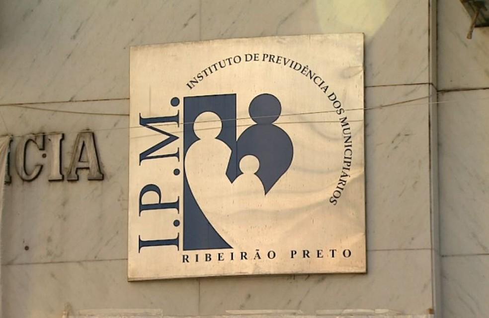 Instituto de Previdência dos Municipiários de Ribeirão Preto — Foto: Reprodução/EPTV