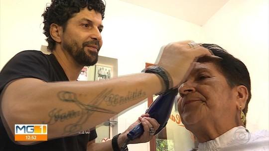 Ivan Cândido oferece cortes de cabelos gratuitos para idosos