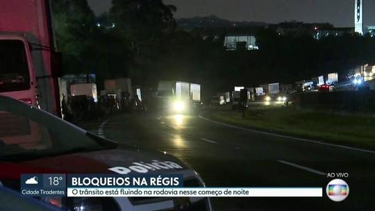 Após quase uma semana, grevistas liberam a Régis Bittencourt, em SP