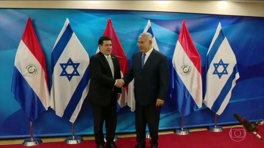 Paraguai inaugura embaixada do país em Jerusalém