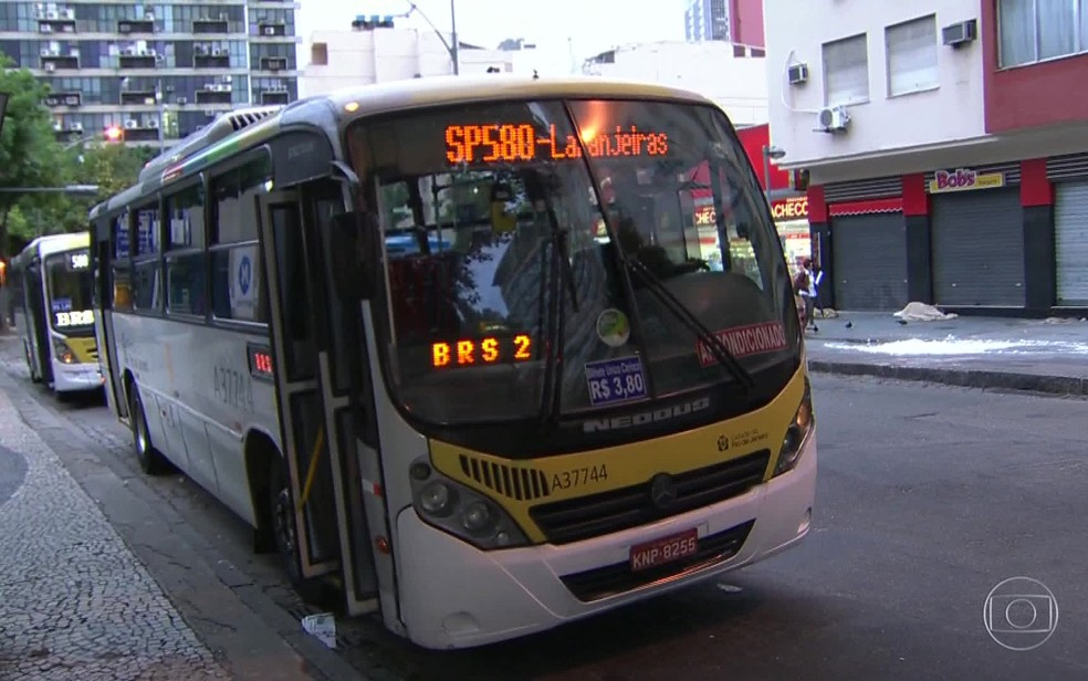 Relatório aponta problemas no sistema de ônibus do Rio (Foto: Reprodução / TV Globo)