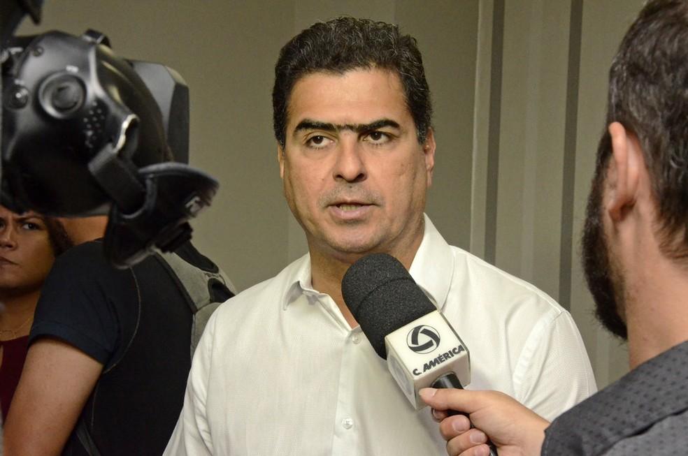 Prefeito Emanuel Pinheiro (PMDB) nega ter cometido algum ato ilícito no período em que atuou como deputado estadual (Foto: Michel Alvim/Secom-Cuiabá)