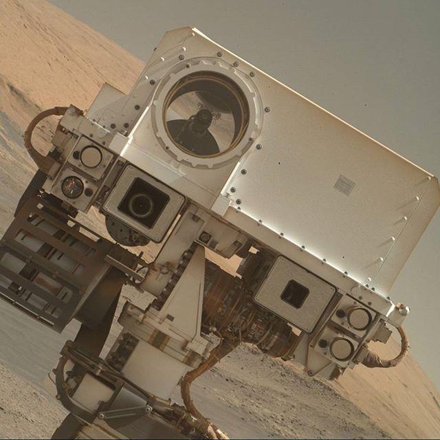 Sonda Curiosity   (Foto: Reprodução/Mars Curiosity Instagram)