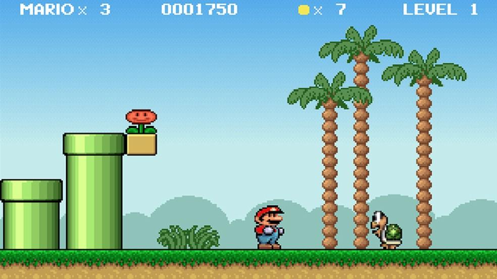 Mario & Luigi é outro game não oficial de Mario para PC que faz um bom trabalho com o encanador. — Foto: Reprodução/Rafael Monteiro