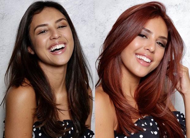 O antes e depois de Yanna Lavigne (Foto: Divulgação)