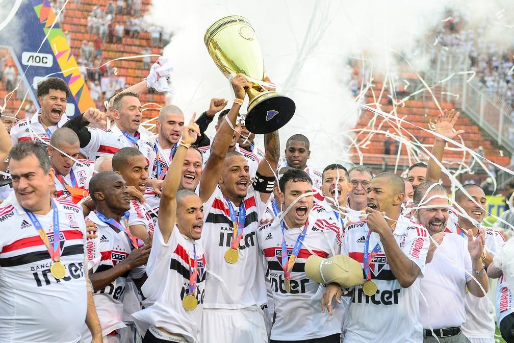 São Paulo é o atual campeão da Copinha — Foto: Renato Pizzutto/BP Filmes