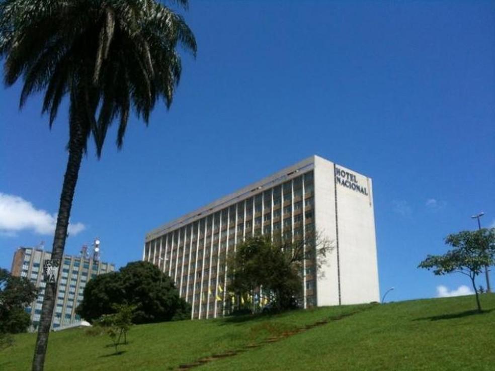 Hotel Nacional de Brasília — Foto: Wikimapia/Reprodução