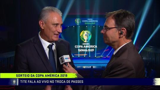 """""""Fantástico"""", """"Um privilégio""""... Rivais deixam lamento de lado e celebram por enfrentar o Brasil"""