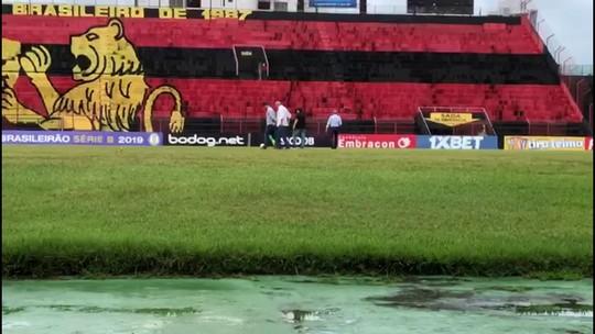 Sport pede adiamento de jogo contra Brasil-RS por chuvas e decisão fica com arbitragem