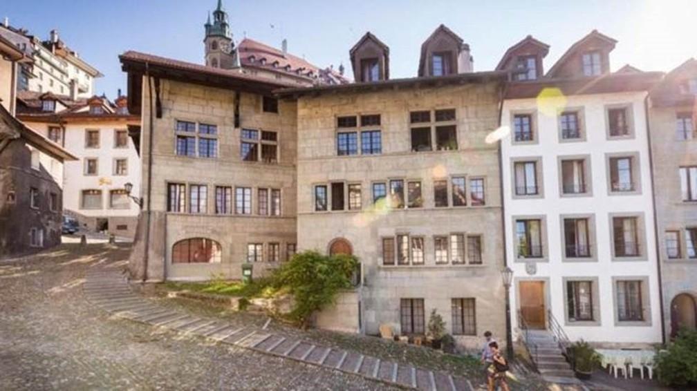 Povoado na Suíça tem idioma próprio — Foto: Região Fribourg