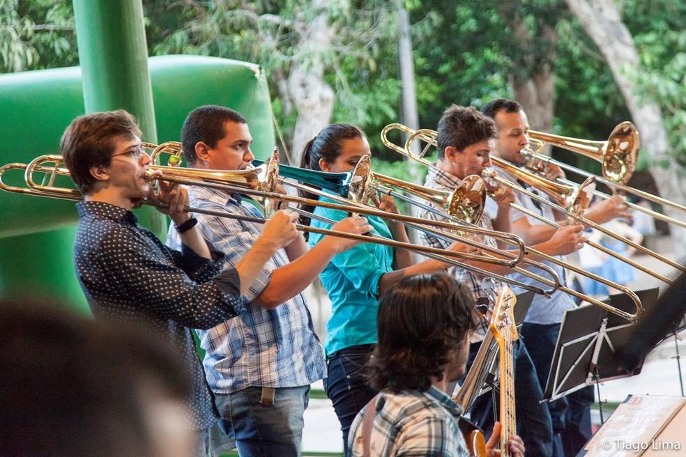 Big Band Jerimum Jazz se apresenta neste domingo no Parque das Dunas (Foto: Divulgação/ Prefeitura de Natal)