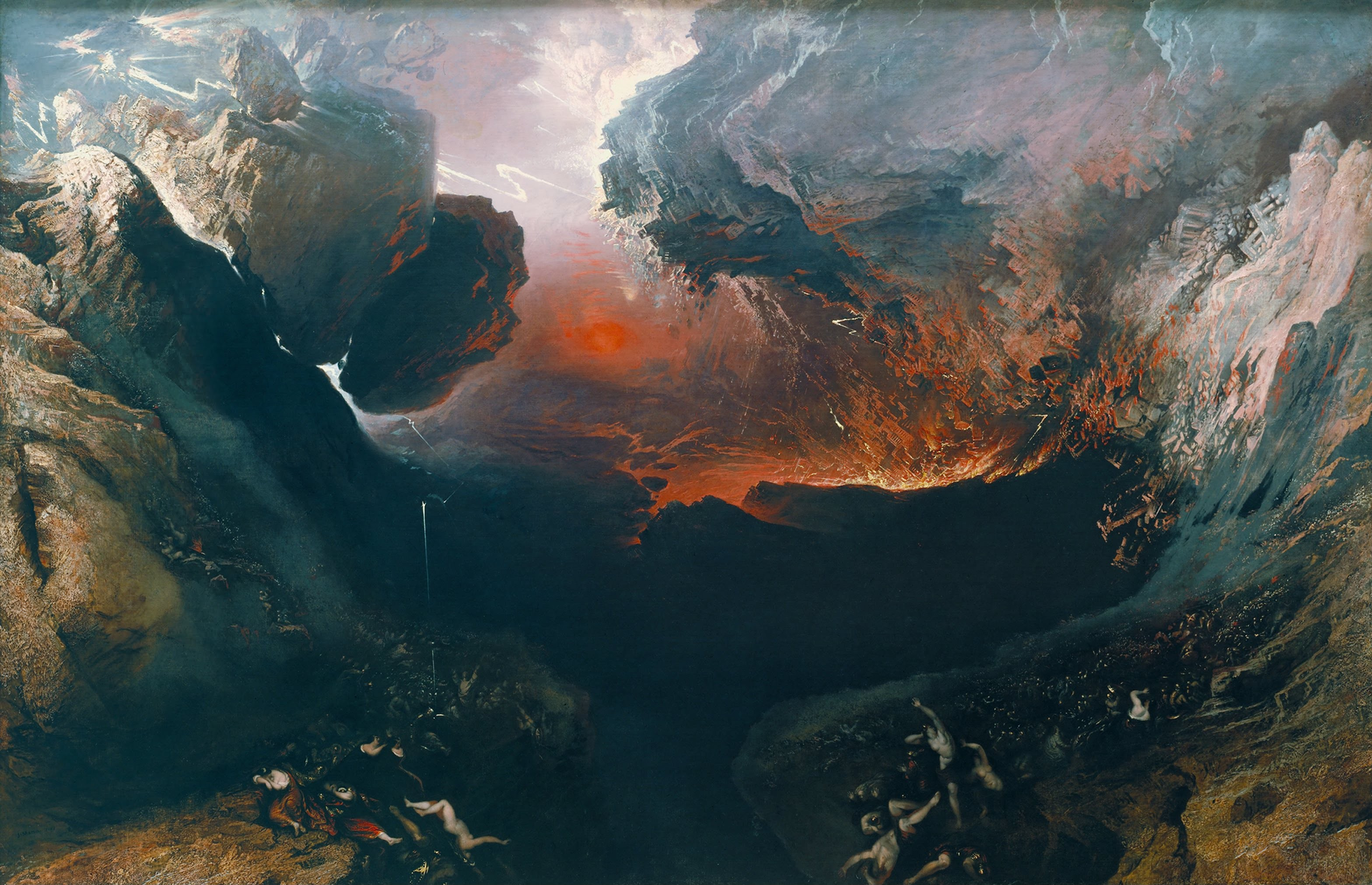 pintura de john martin descrevendo o apocalipse (Foto: wikimedia commons)