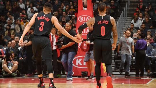 Melhores Momentos: Portland Trail Blazers 131 x 127 Los Angeles Clippers, pela NBA
