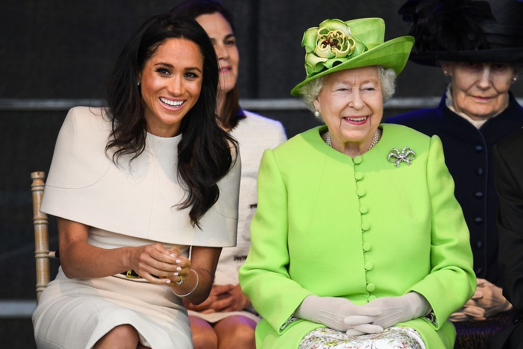 Meghan Markle e Rainha Elizabeth (Foto: Getty Images)