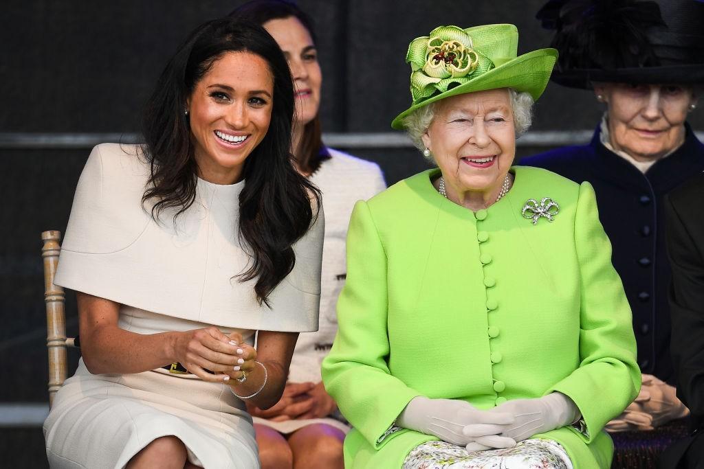 Meghan Markle e Rainha Elizabeth (Foto: Getty Images)