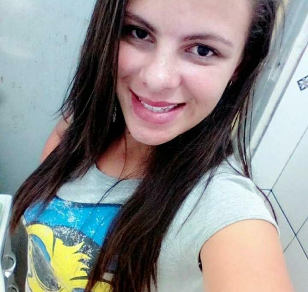 Franciele Gonçalves foi internada em estado grave após ser agredida neste domingo (3) — Foto: Arquivo Pessoal