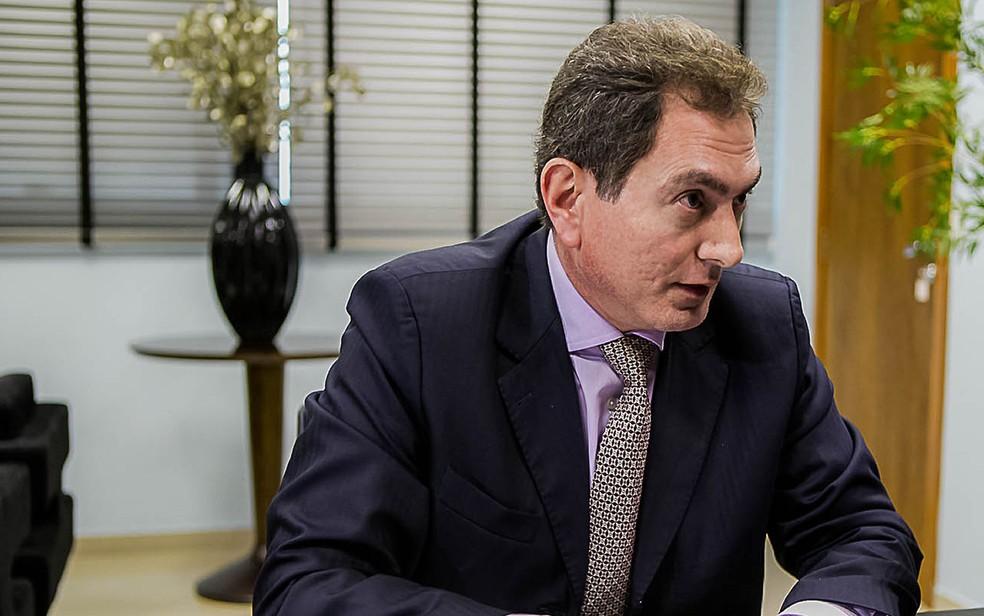 Ex-secretário da Casa Civil em Mato Grosso, Pedro Nadaf, disse que Silval lhe perguntou sobre sistema financeiro da Suíça (Foto: Chico Valdiner/Secom/MT)