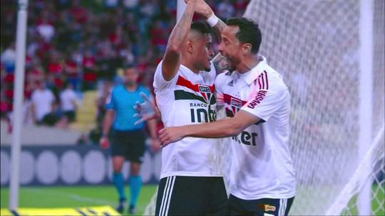 Ex-Fla, Everton marca de cabeça, e São Paulo vence o Rubro-Negro no Rio