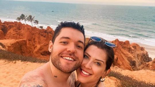 Andressa e Nasser, do 'BBB13', comemoram oito anos de namoro: 'Esse ano tem casório'