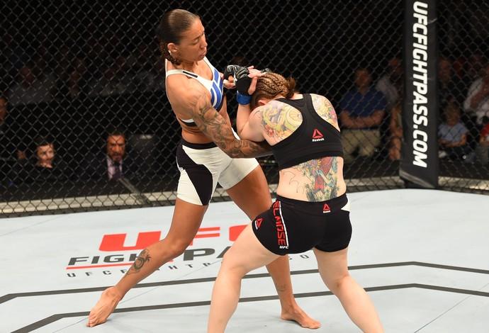 Germaine de Randamie Anna Elmose UFC Holanda (Foto: Getty Images)