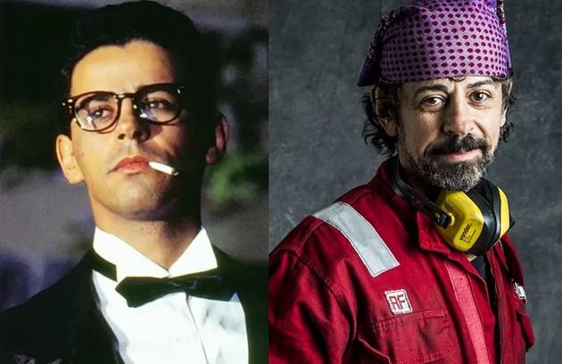 Taumaturgo Ferreira foi Urubu, grande amigo de Marcos. O ator esteve recentemente nas duas temporadas da série 'Ilha de ferro' (Foto: TV Globo)
