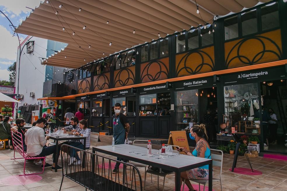 Espaço de oficina e gastronomia Infinu na Asa Sul  — Foto: Luara Baggi/Divulgação