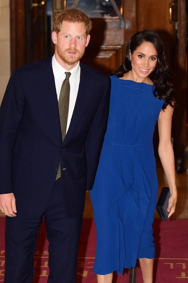 "LONDON, UNITED KINGDOM - SEPTEMBER 06: Prince Harry, Duke of Sussex and Meghan, Duchess of Sussex attends the ""100 days of peace"" concert to commemorate the centenary of the end of the First World War at Central Hall Westminster on September 06, 2018 in L (Foto: Getty Images)"