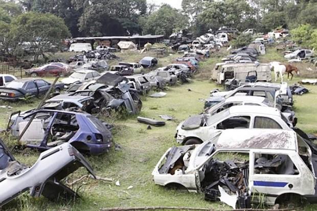 O desmanche ilegal é uma das alternativas para quem quer sumir com o carro (Foto: SindiSeg)