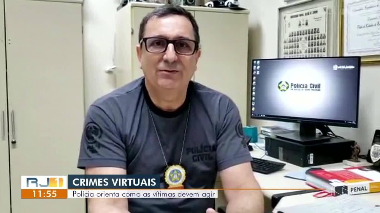 Delegado dá orientações para quem foi vítima de crime virtual