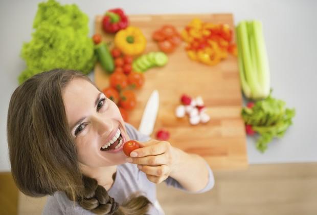 Peixes, frutos do mar, frutas e verduras podem ser aliados para ter uma pele perfeita (Foto: Think Stock)
