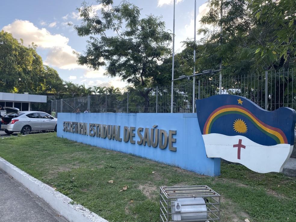 Secretaria de Saúde de Pernambuco divulgou balanço atualizado dos casos do novo coronavírus no estado — Foto: Pedro Alves/G1