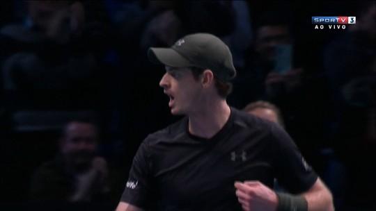 De virada, Murray supera Raonic e vai à decisão do ATP Finals pela 1ª vez