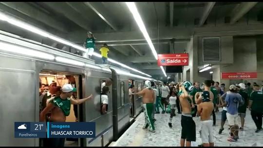 Após vandalismo na estação Barra Funda, metrô funciona normalmente nesta segunda-feira (9)