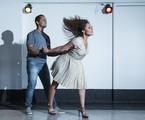 Roberta Almeida dança zouk com o instrutor Thalles Andrade | Leo Martins