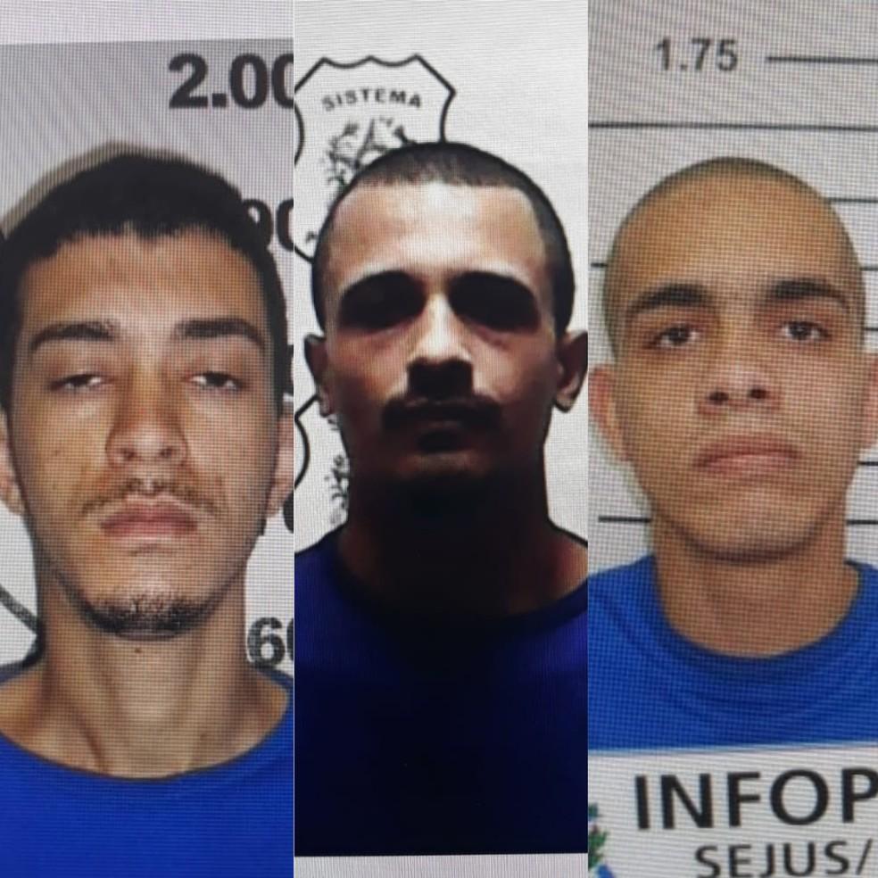 Detentos fogem de presídio em Vila Velha, no ES  — Foto: Divulgação/ Sejus