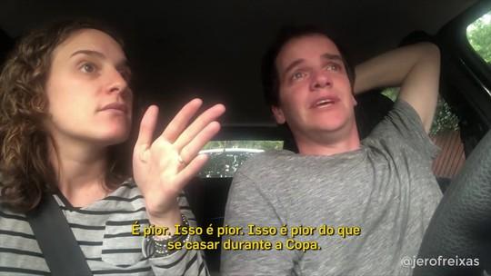 Boca x River ou casamento: Casal do Mundial volta à cena para questionar dúvida cruel